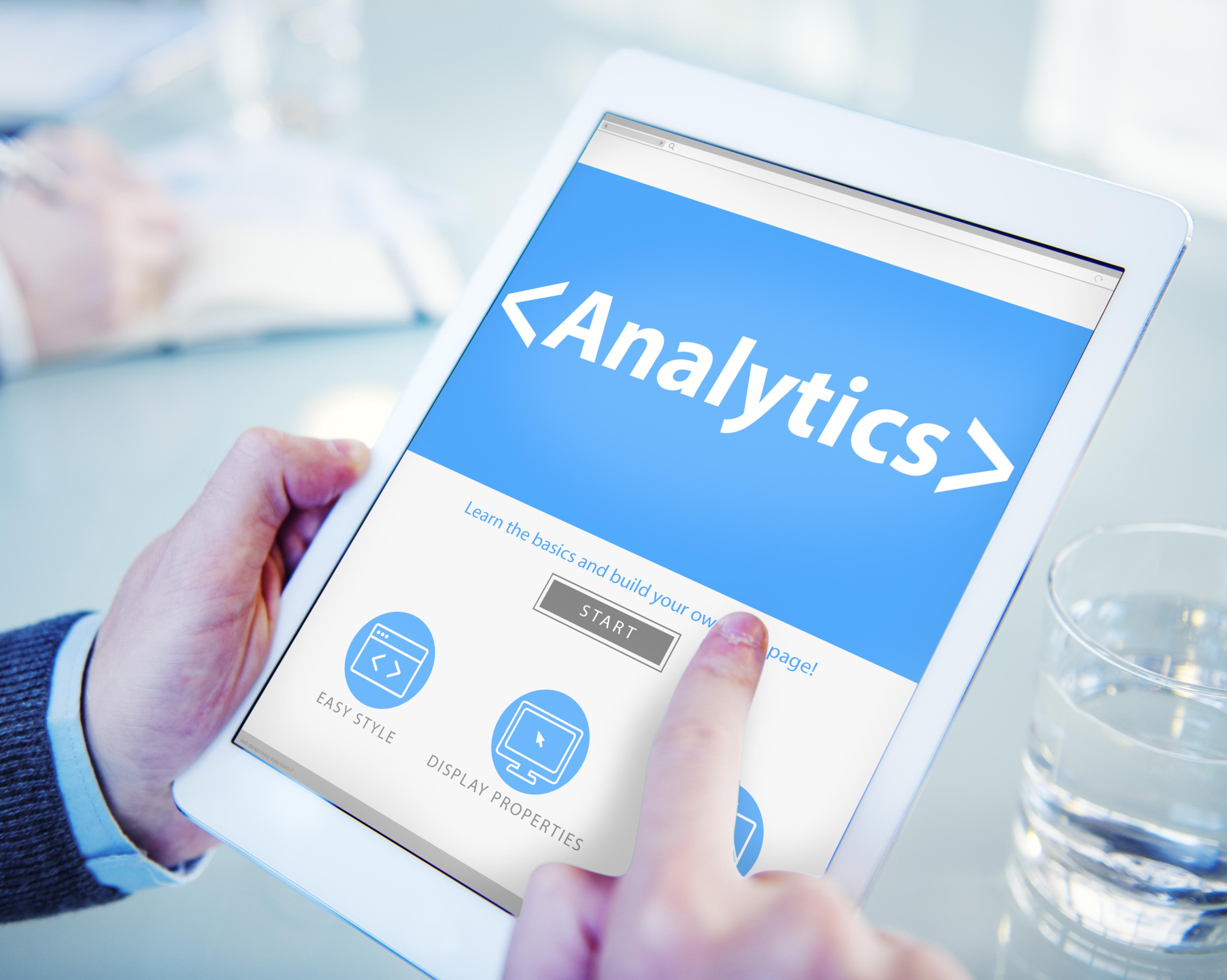 Analytics Business Technology Analyzing Data Information Office